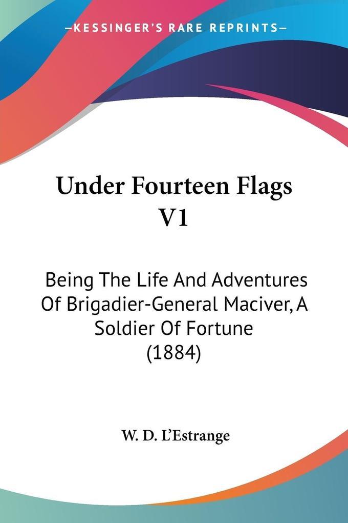 Under Fourteen Flags V1 als Taschenbuch