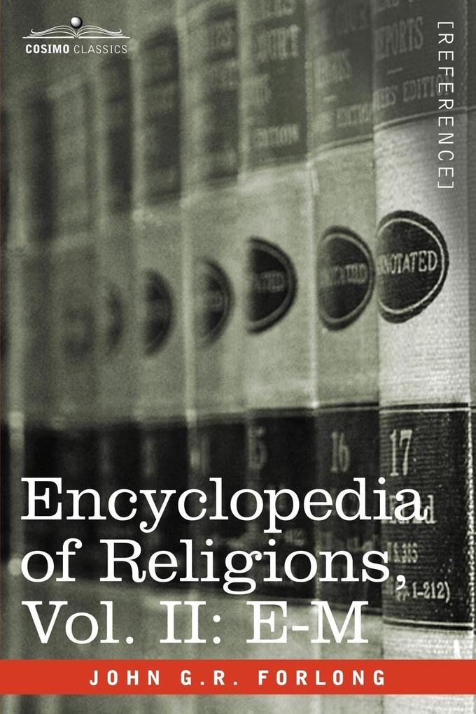 Encyclopedia of Religions - In Three Volumes, Vol. II als Taschenbuch