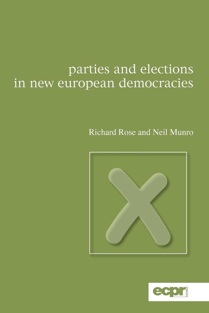 Parties and Elections in New European Democracies als Taschenbuch