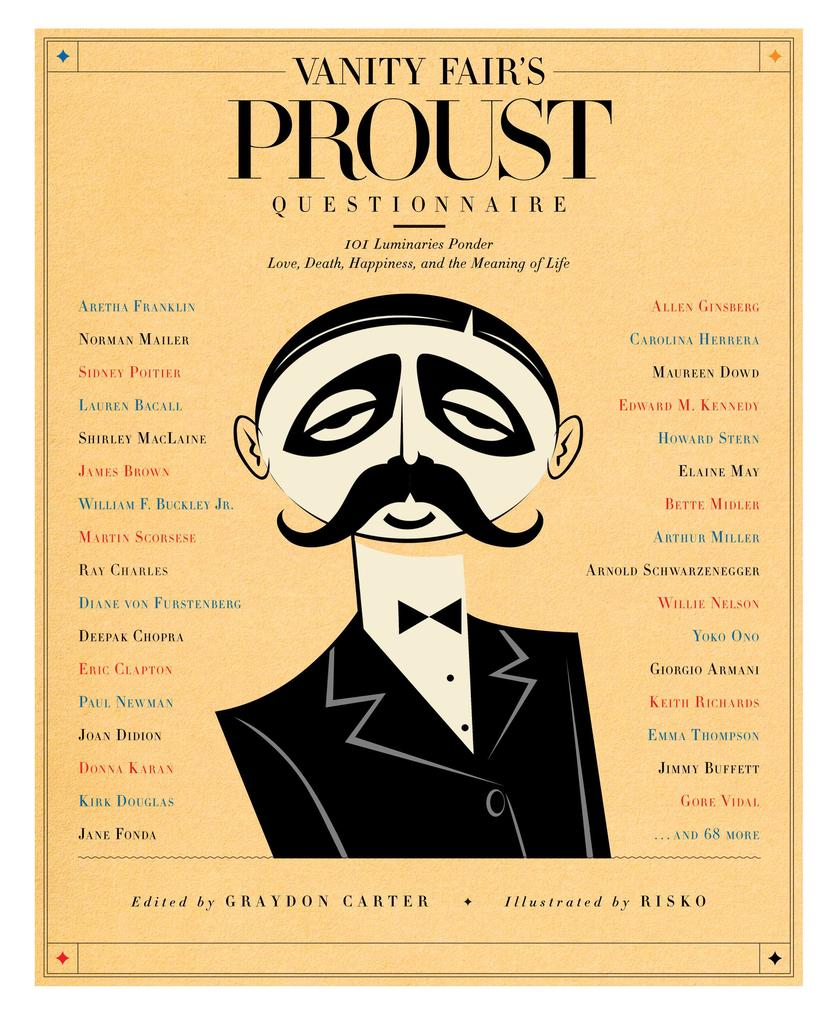 Vanity Fair's Proust Questionnaire als Buch (gebunden)