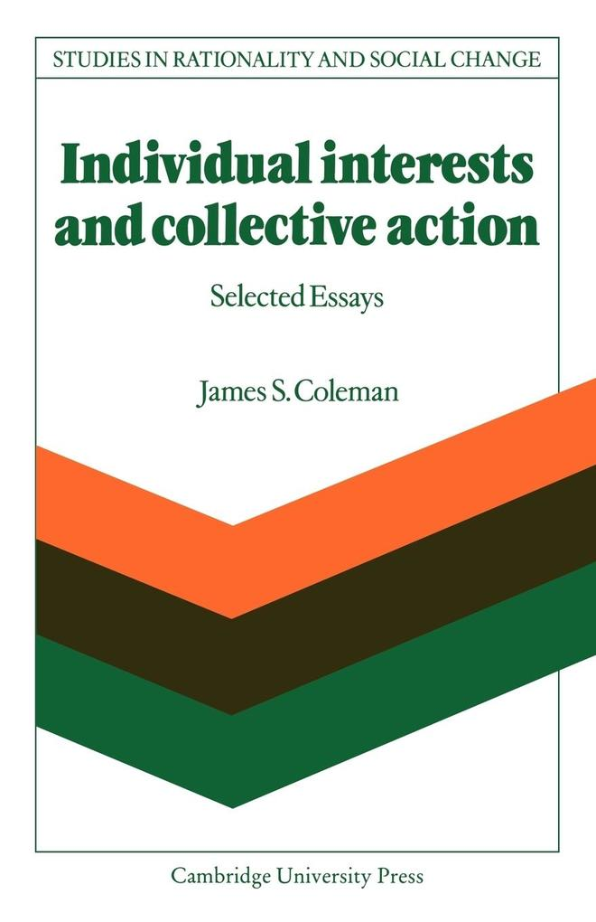 Individual Interests and Collective Action als Taschenbuch