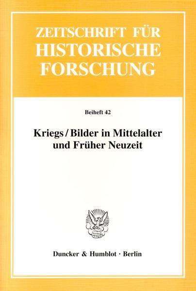 Kriegs / Bilder in Mittelalter und Früher Neuzeit als Buch (kartoniert)