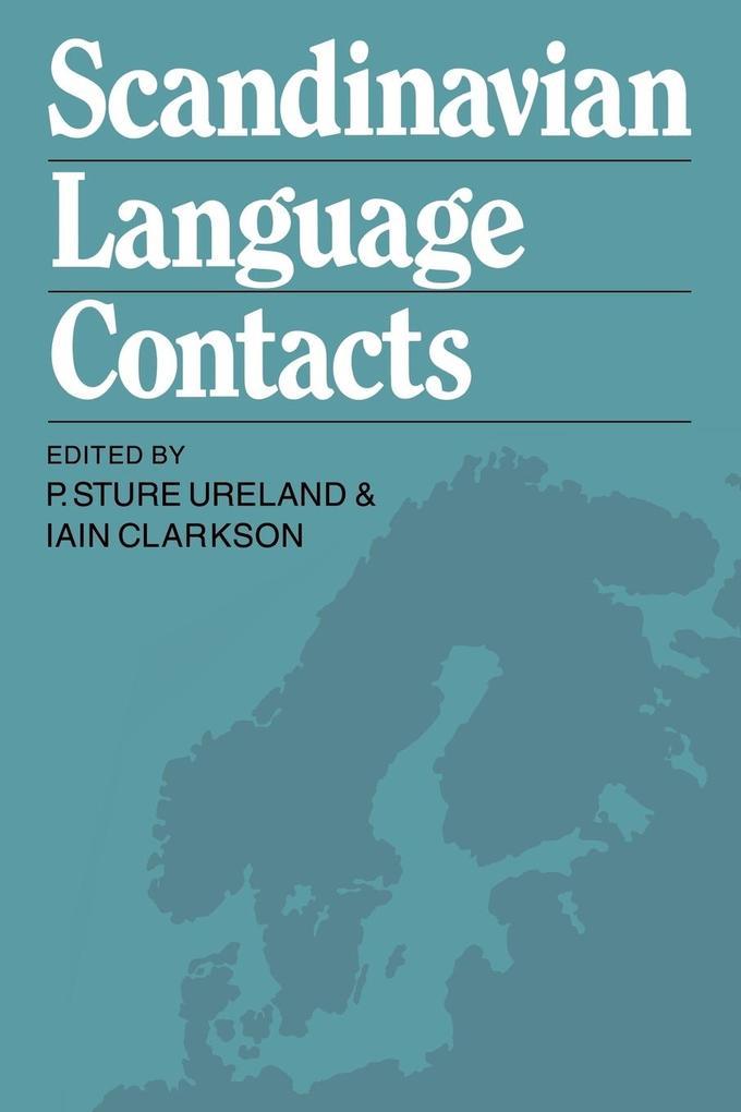 Scandinavian Language Contacts als Taschenbuch