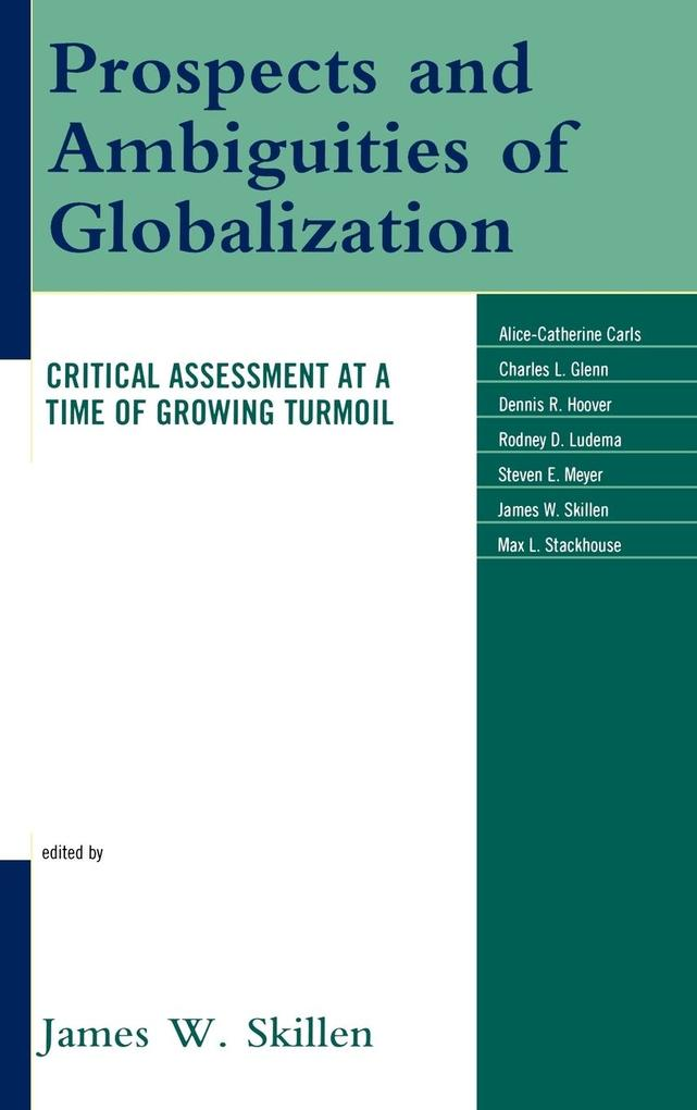 Prospects and Ambiguities of Globalization als Buch (gebunden)