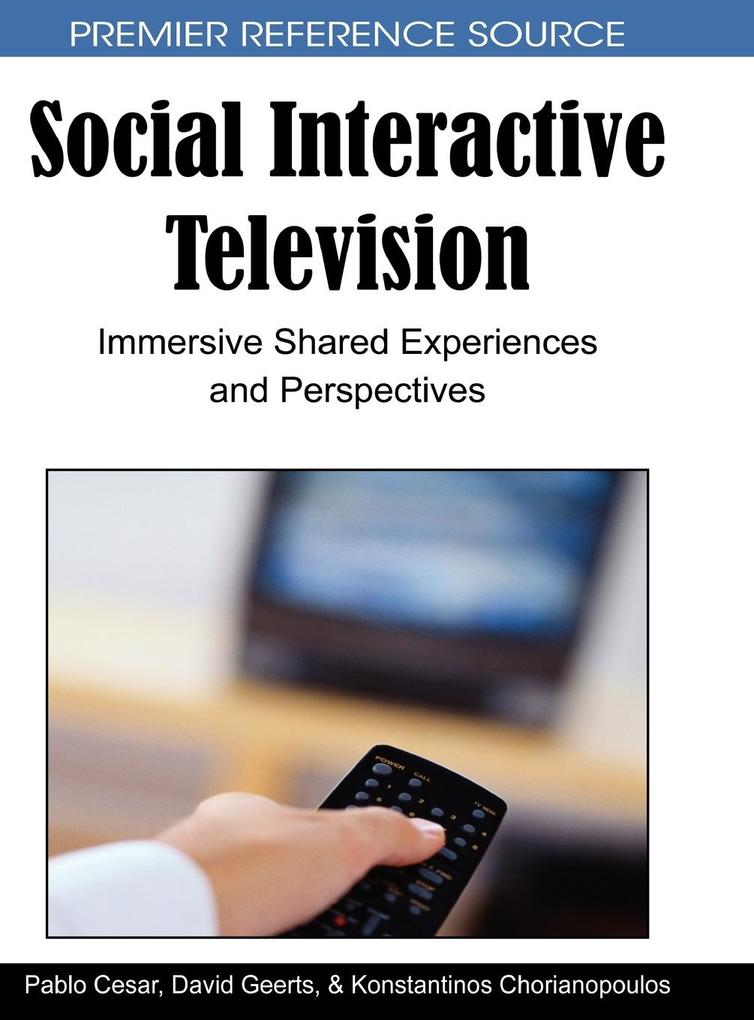 Social Interactive Television als Buch (gebunden)