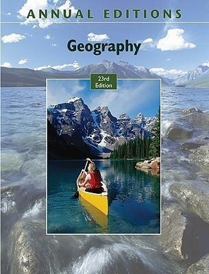 Annual Editions: Geography, 23/E als Taschenbuch
