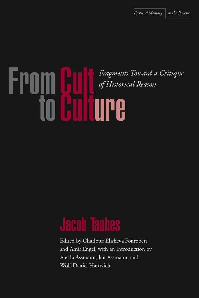 From Cult to Culture: Fragments Toward a Critique of Historical Reason als Taschenbuch