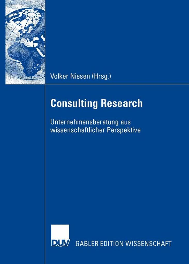 Consulting Research als eBook pdf
