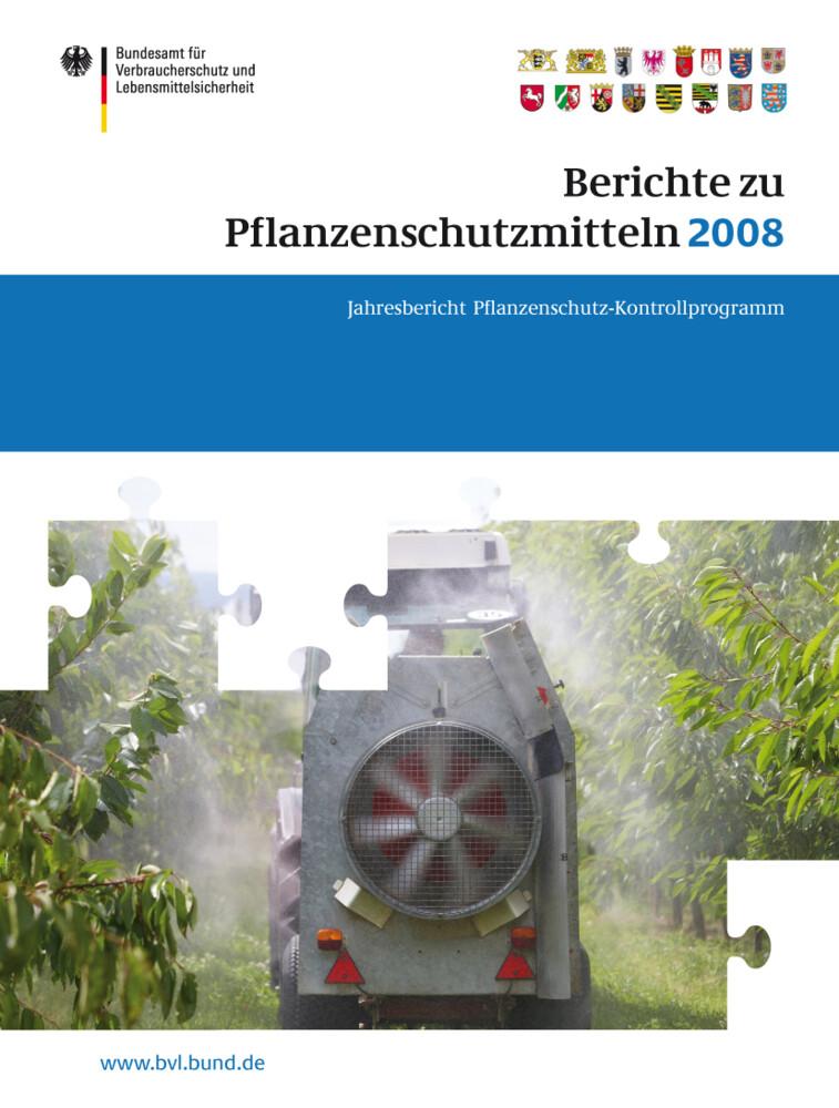Berichte zu Pflanzenschutzmitteln 2008 als Buch