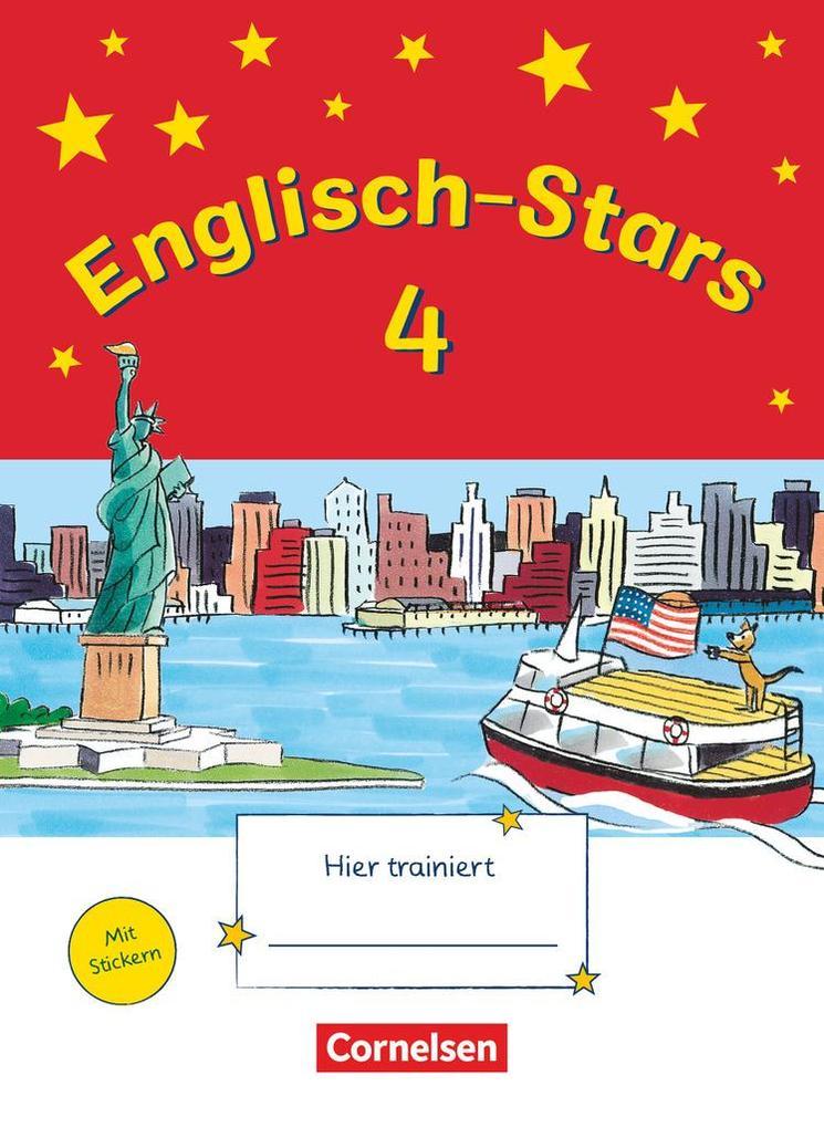 Englisch-Stars 4. Schuljahr. Übungsheft als Buch (geheftet)