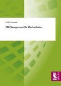 PR-Management für Hochschulen als Buch (kartoniert)