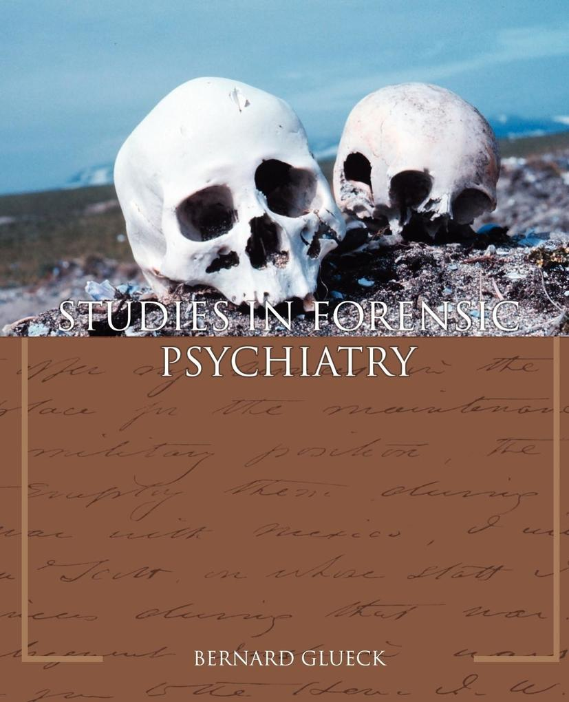 Studies in Forensic Psychiatry als Buch (kartoniert)