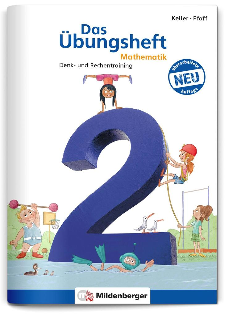Das Übungsheft Mathematik 2 als Buch (geheftet)