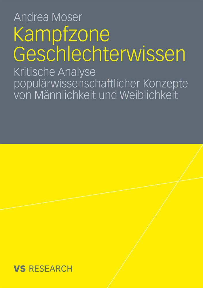 Kampfzone Geschlechterwissen als Buch (kartoniert)