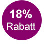 18% Rabatt