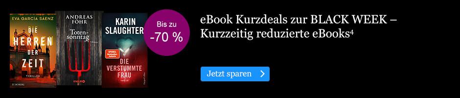 Die BLACK WEEK Kurz Deals bei eBook.de