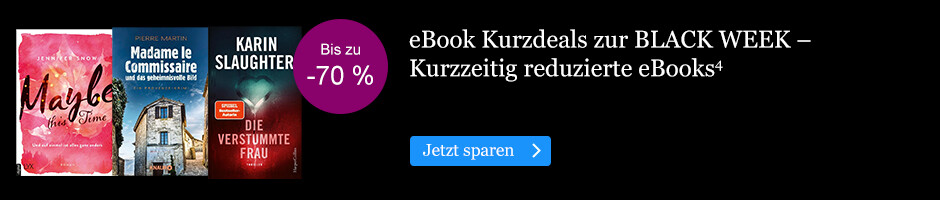Die BLACK WEEK Kurz Deals bei eBook.de