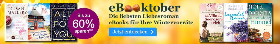 eBooktober bei eBook.de: Liebesroman eBooks für Ihre Wintervorräte