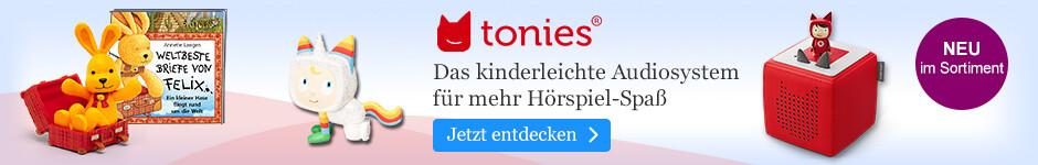 tonies - Das kinderleichte Audiosystem für mehr Hörspiel-Spaß