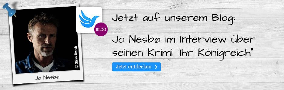 Jetzt in unserem Blog: Jo Nesbo im Interview
