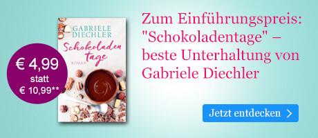 Zum Einführungspreis bei eBook.de: Schokoladentage von Gabriele Diechler