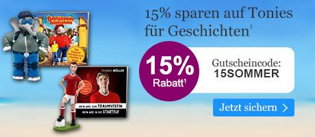 15% sparen auf Tonies für Geschichten bei eBook.de mit dem Gutschein 15SOMMER