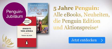 5 Jahre Penguin: Alle eBooks, Neuheiten, die Penguin Edition und Aktionspreise bei eBook.de