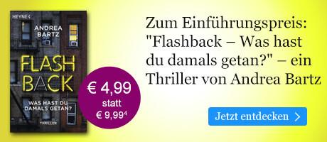 Zum Einführungspreis bei eBook.de: Flashback ¿ Was hast du damals getan? von Andrea Bartz