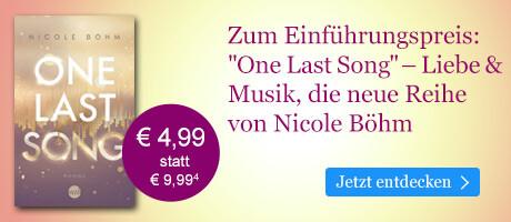 Zum Einführungspreis bei eBook.de: One Last Song von Nicole Böhm