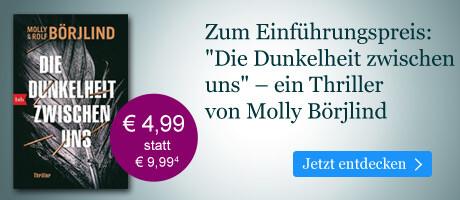 Zum Einführungspreis bei eBook.de: Die Dunkelheit zwischen uns von Molly Börjlind