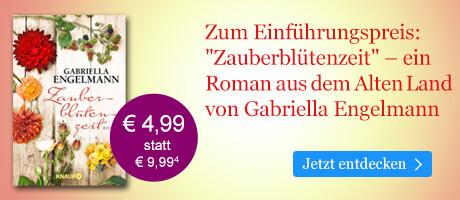 Zum Einführungspreis bei eBook.de: Zauberblütenzeit von Gabriella Engelmann