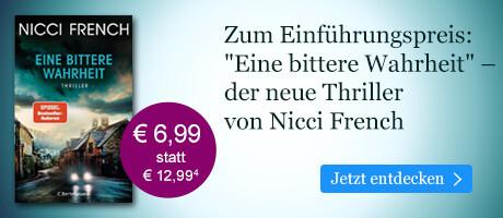 Zum Einführungspreis bei eBook.de: Eine bittere Wahrheit von Nicci French