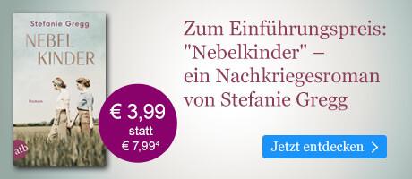 Zum Einführungspreis bei eBook.de: Nebelkinder von Stefanie Gregg
