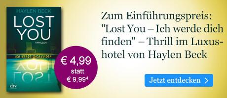 Zum Einführungspreis bei eBook.de: Lost You - Ich werde dich finden von Haylen Beck