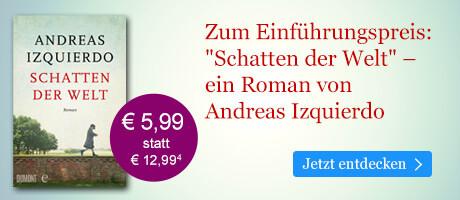 Zum Einführungspreis bei eBook.de: Schatten der Welt von Andreas Izquierdo