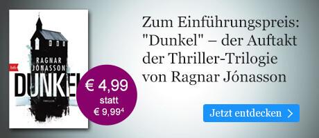 Zum Einführungspreis bei eBook.de: DUNKEL von Ragnar Jónasson