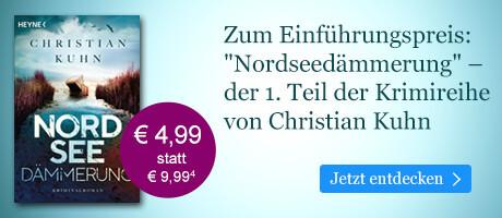 Zum Einführungspreis bei eBook.de: Nordseedämmerung von Christian Kuhn