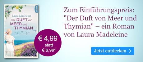 Zum Einführungspreis bei eBook.de: Der Duft von Meer und Thymian von Laura Madeleine