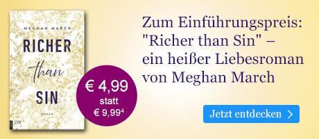 Zum Einführungspreis bei eBook.de: Richer than Sin von Meghan March