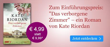Zum Einführungspreis bei eBook.de: Das verborgene Zimmer von Kate Riordan