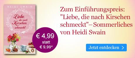 Zum Einführungspreis bei eBook.de: Liebe, die nach Kirschen schmeckt von Heidi Swain