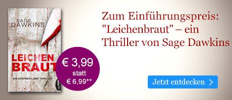 Zum Einführungspreis bei eBook.de: Leichenbraut von Sage Dawkins