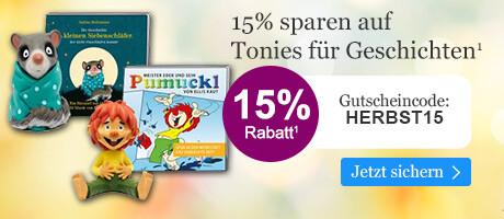 15% sparen auf Tonies