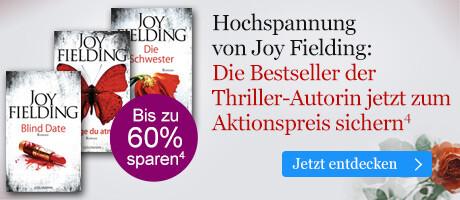 Hochspannung von Joy Fielding: Die Bestseller der Thriller-Autorin zum Aktionspreis bei eBook.de