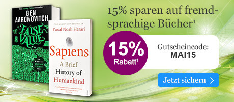 Sparen Sie 15% auf fremdsprachige Bücher