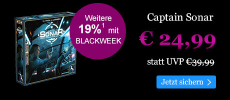 BLACK WEEK Angebot: Captain Sonar für € 24,99