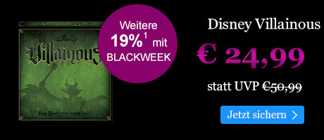 BLACK WEEK Angebot: Disney Villainous für € 24,99
