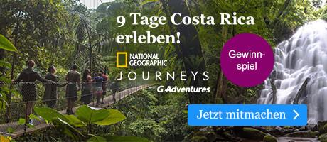 Unser großes Gewinnspiel: Gewinnen Sie eine Traumreise nach Coasta Rica mit eBook.de
