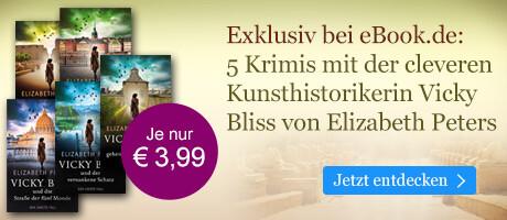 Exklusiv bei eBook.de: Fünf Krimis mit Vicky Bliss von Elizabeth Peters
