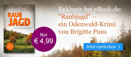 Exklusiv bei eBook.de: Raubjagd von Brigitte Pons